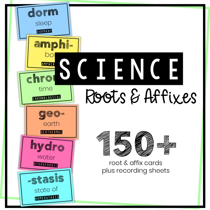 Science Roots and Affixes