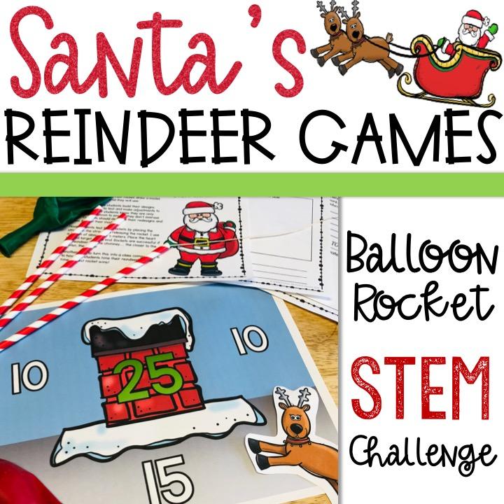 Santa Reindeer STEM Challenge