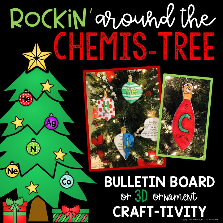 ChemisTREE Christmas Ornaments