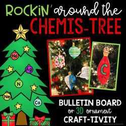 ChemisTREE Christmas Ornaments