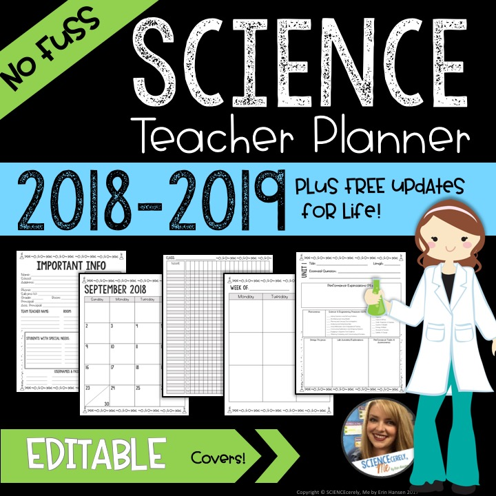 Science Teacher Planner