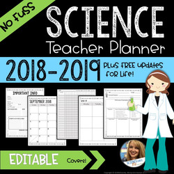 Science Teacher Planner