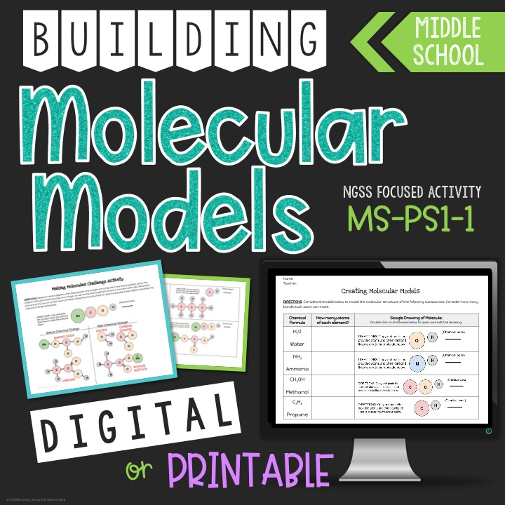Digital Molecular Models Lesson