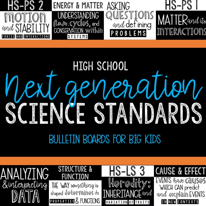 High School NGSS Posters