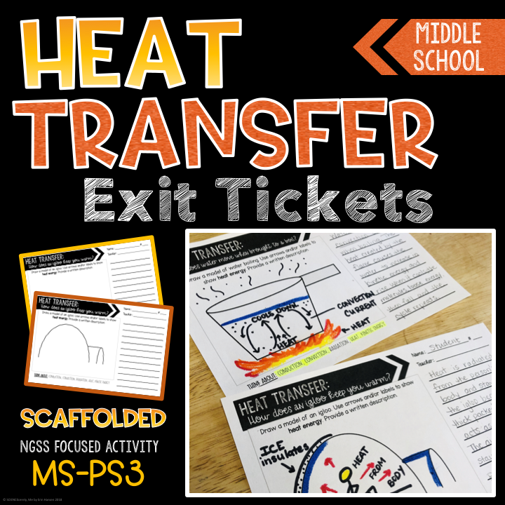Heat Transfer Exit Ticket COVER