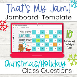 Holiday Jamboard Activities for the Classroom - Distance Learning