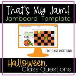 Halloween Jamboard Activities