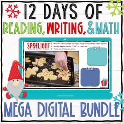 Holiday Reading, Writing, and Math Activities