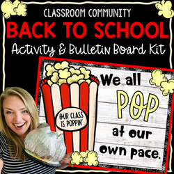 Classroom Community Building ActivityPopcorn COVER