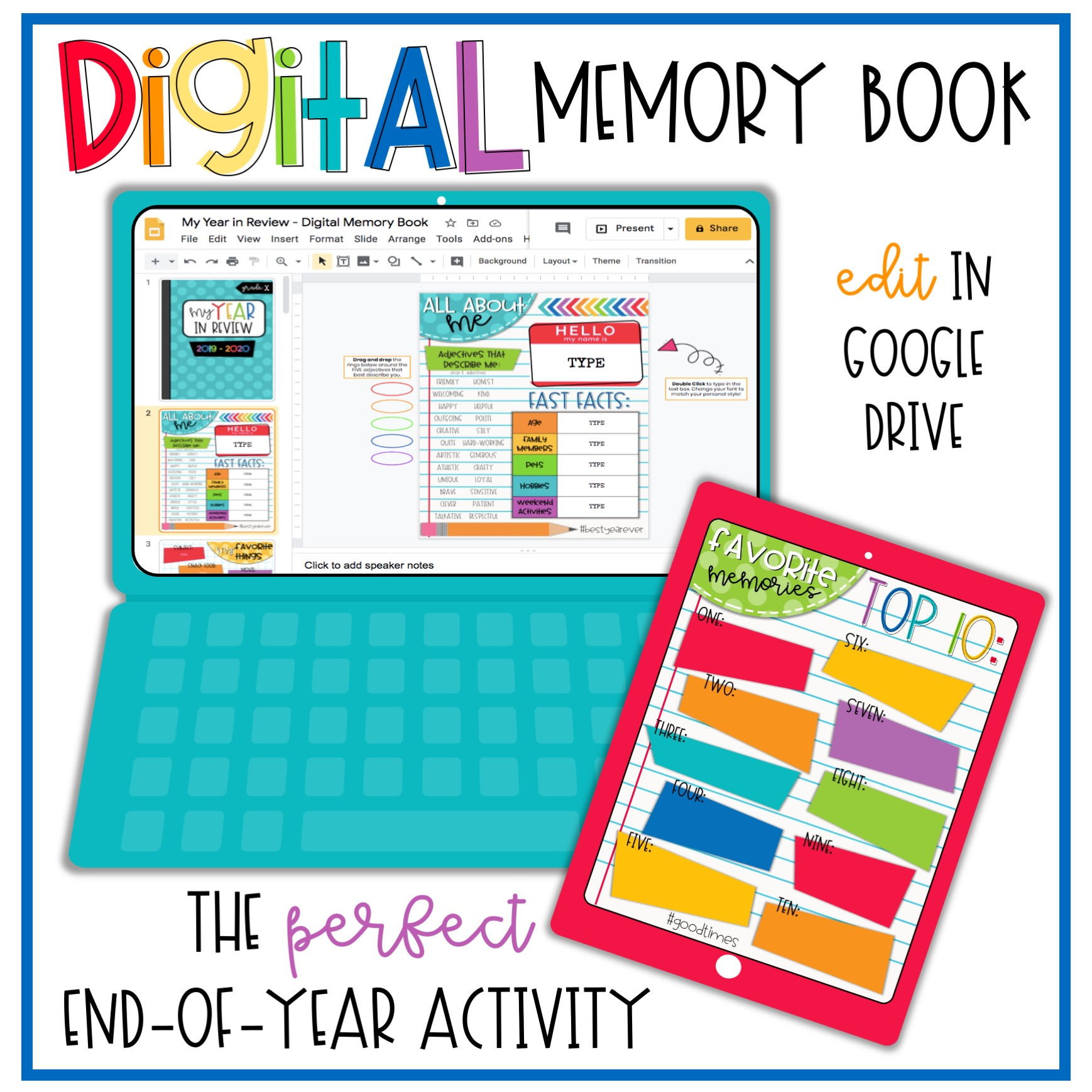 Digital memory book COVER 1