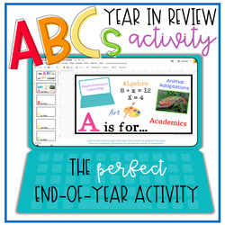 End of Year ABCs COVER