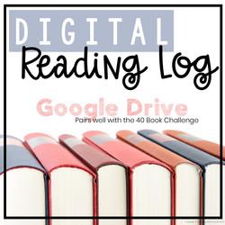 Digital Reading Log for Google Drive