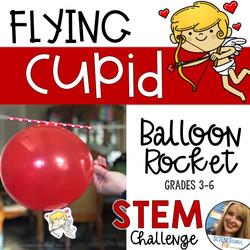 Valentines Day Balloon Rockets