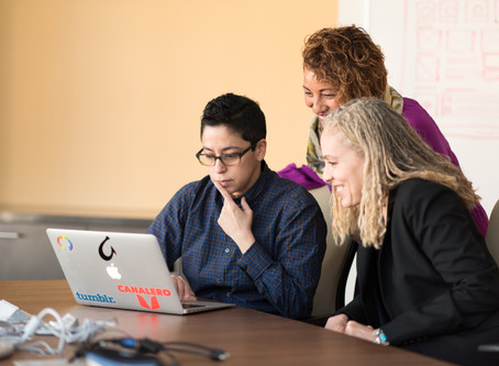 Women at Work: Building Community in a Man's World