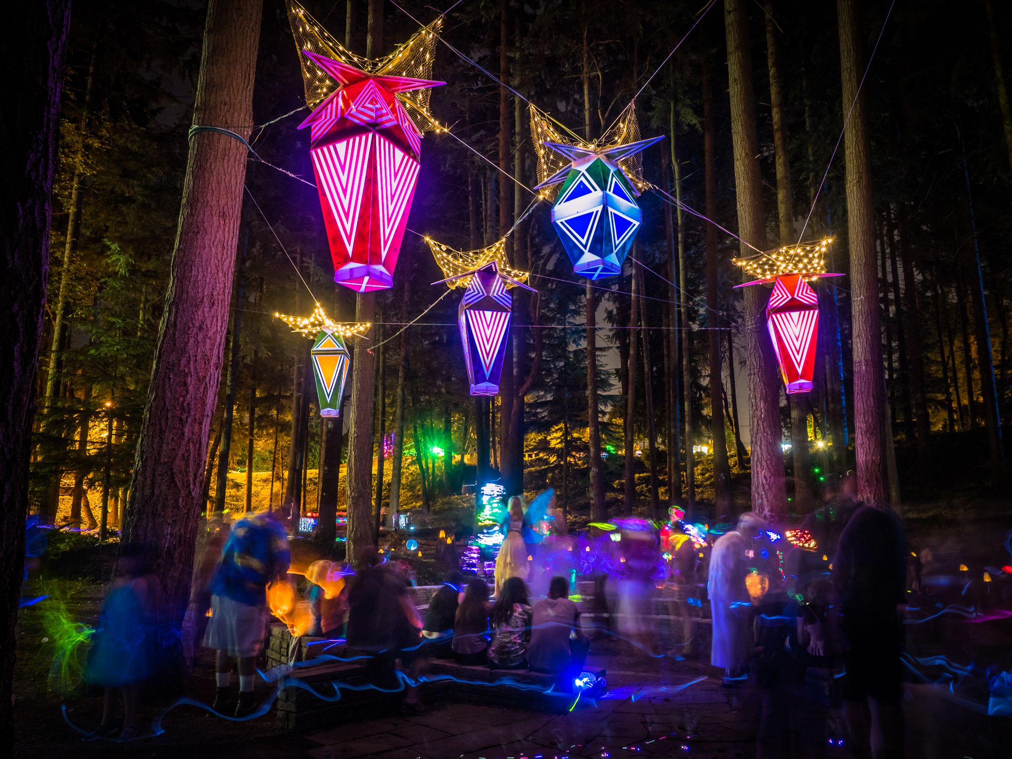 Phosphorescent Canopy