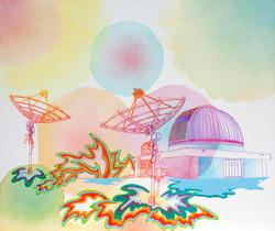 "Observatory, 30"" x 36"""