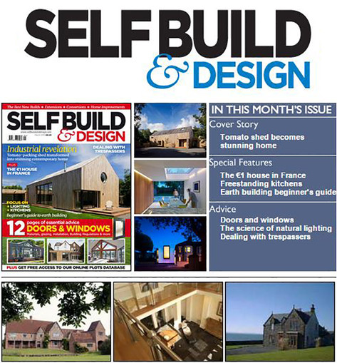 M House features as the cover story for the March issue of SelfBuild & Design!