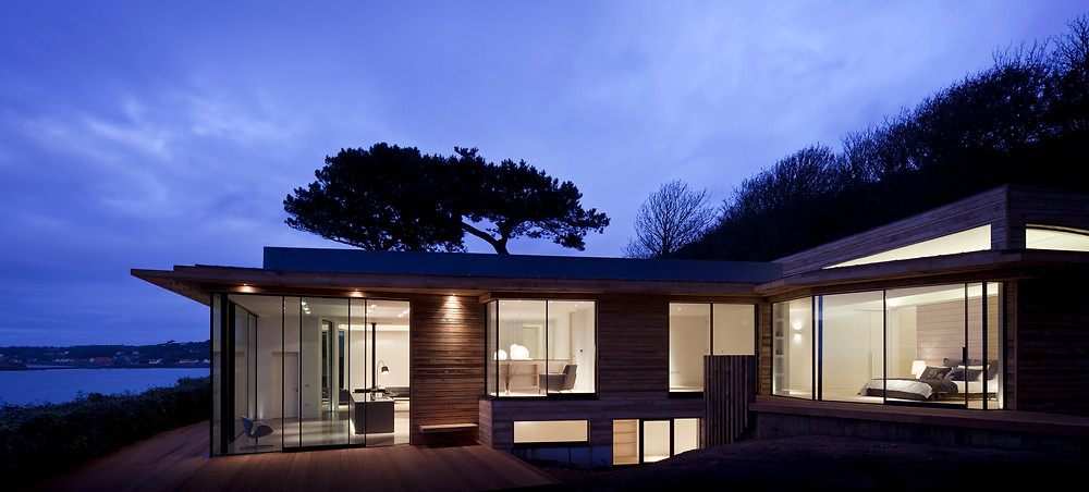 Top beach house in Guernsey Channel Islands, UK