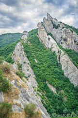 Dolomiten in Castelmezzano - Italien
