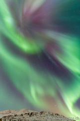 Nordlicht Corona - Lyngsaided, Norwegen
