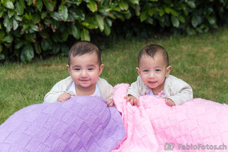 Kindershooting mit Zwillingen