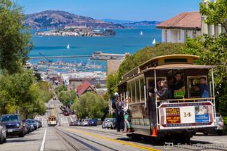 Cable Cars and Alcatraz - San Francisco, USA