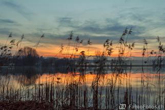 Sonnenuntergang Moossee - Moosseedorf
