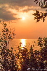 Sonnenuntergang Spiaggia Nera - Maratea, Italien