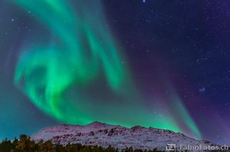Nordlicht - Lyngsaided, Norwegen