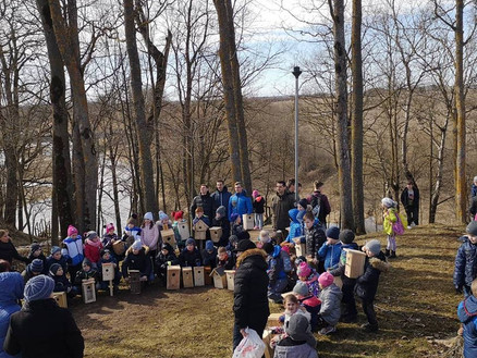 Volunteering for Lithuanian nature in Venta Regional Park