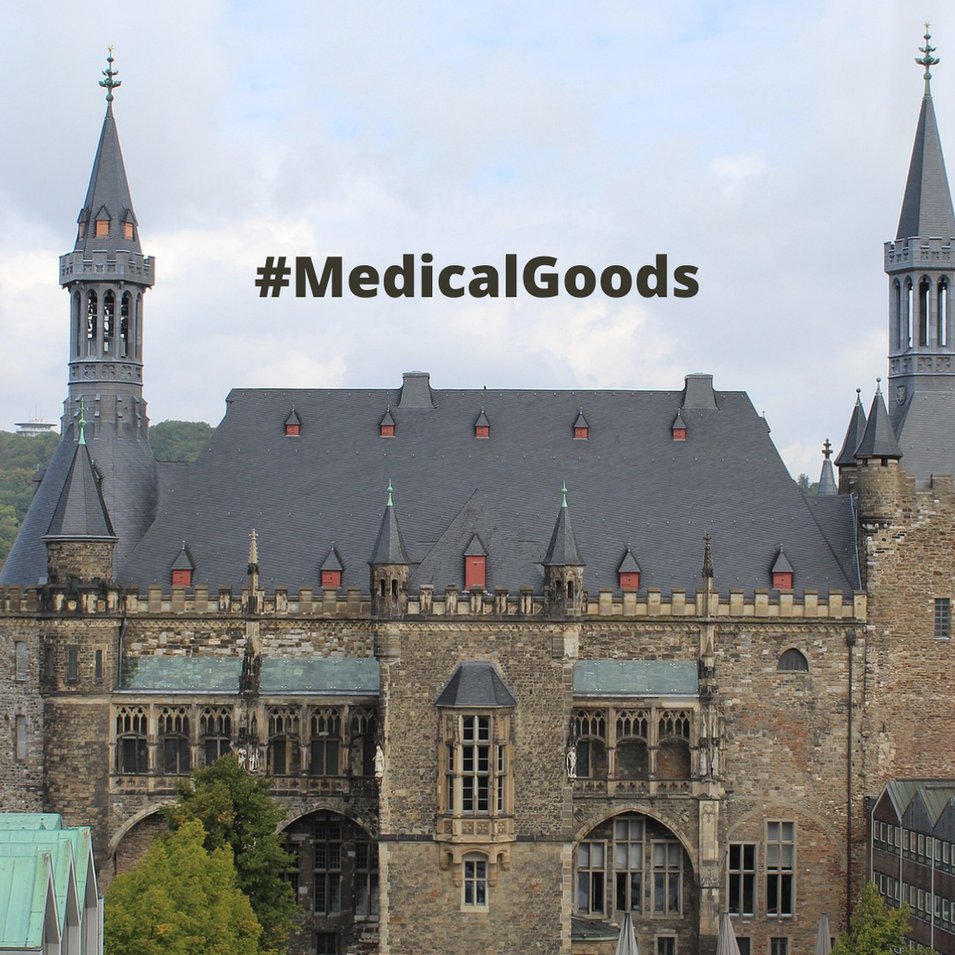 "Cross Border Transport of Medical Goods per Unmanned Aerial Vehicle (a.k.a. ""drone"") (City of Aachen)"
