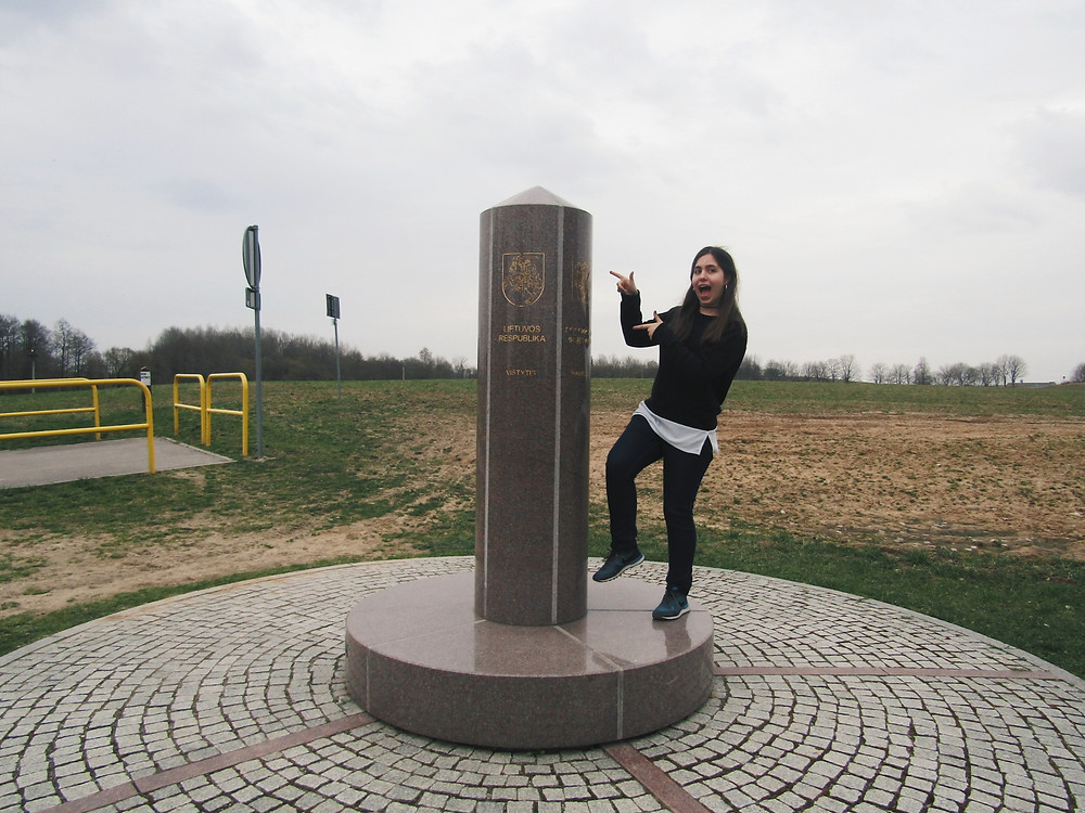 Catarina exploring Poland
