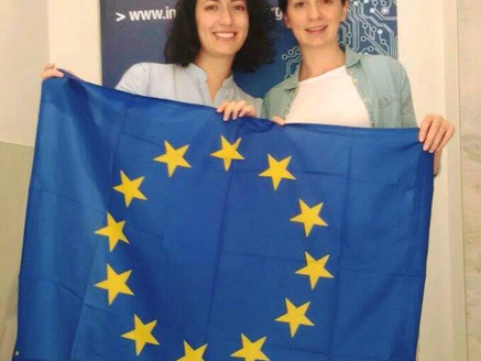 """The very first """"team"""" of Interreg Reporters"""