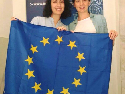 "The very first ""team"" of Interreg Reporters"