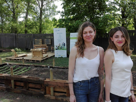 Opening Day Community Garden for mild intellectually disabled students in Székesfehérvár