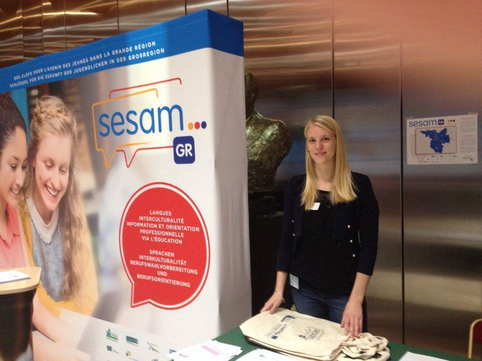 Mareen supporting SESAM'GR