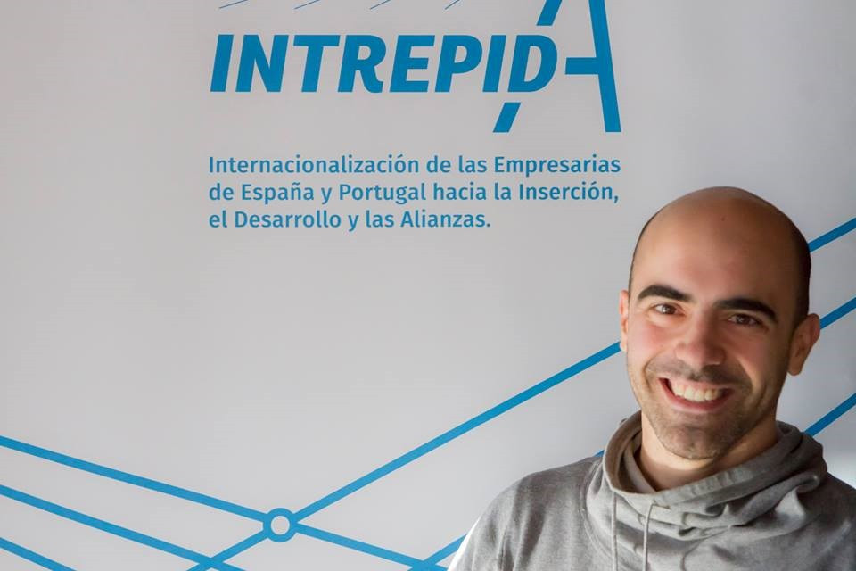 Tiago at the Three Cultures of the Mediterranean Foundation to support the Interreg project Intrepida