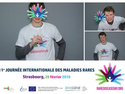 Rare Disease Day: An IVY volunteer helping to raise awareness