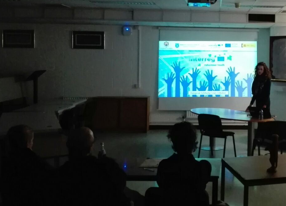 Aida while presenting IVY