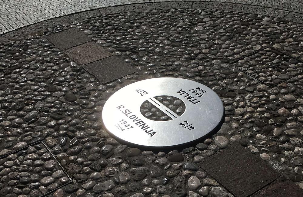 Commemorative Plate of Transalpina Square