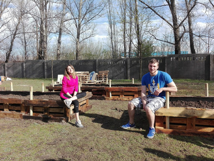 Community Garden for mild intellectually disabled students in Székesfehérvár