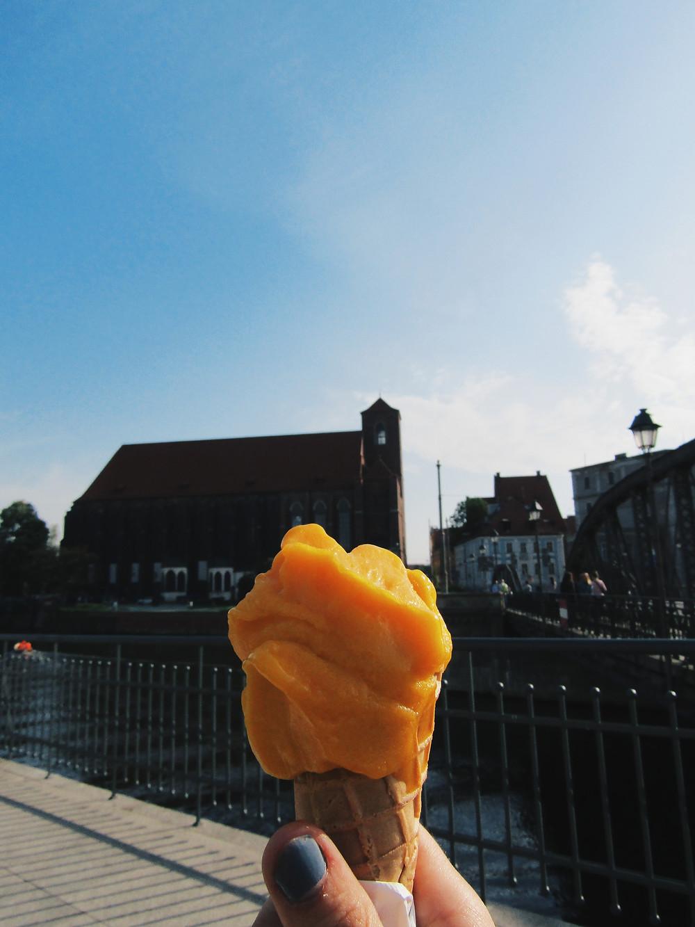 Ice cream in Elblag