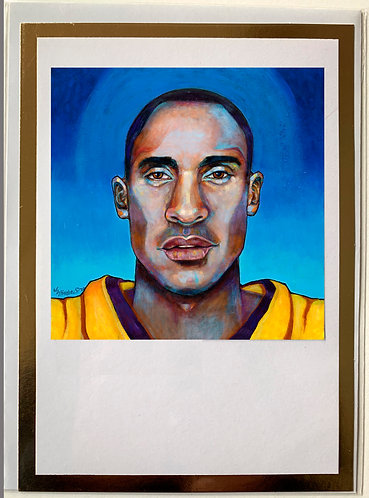 Mamba out art card