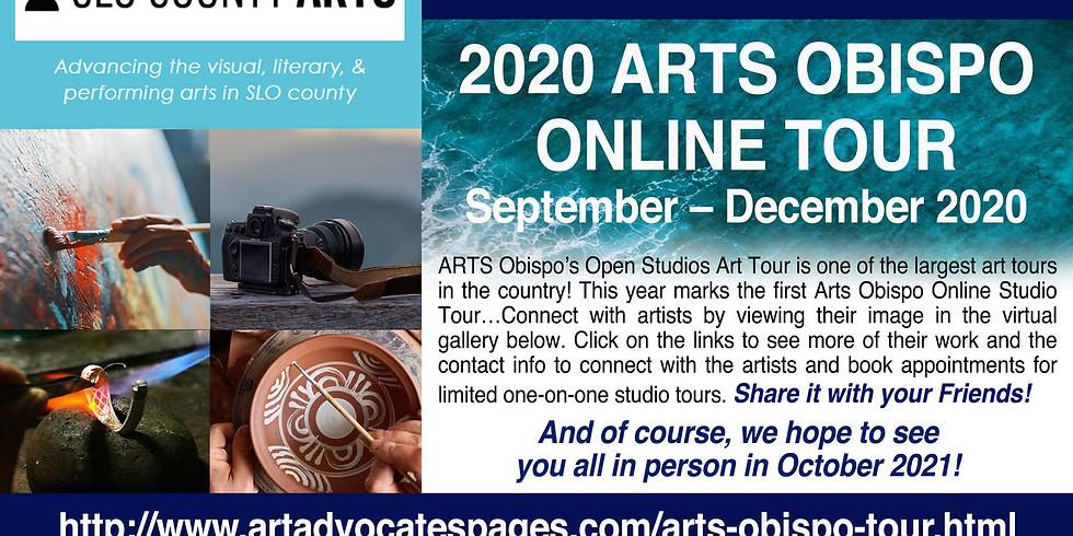Arts Obispo Virtual Open Studio Tour