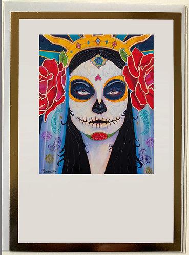 Goddess of the earth Art card