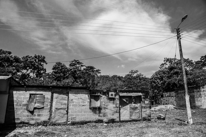Casa abandonada Puerto Esperanza
