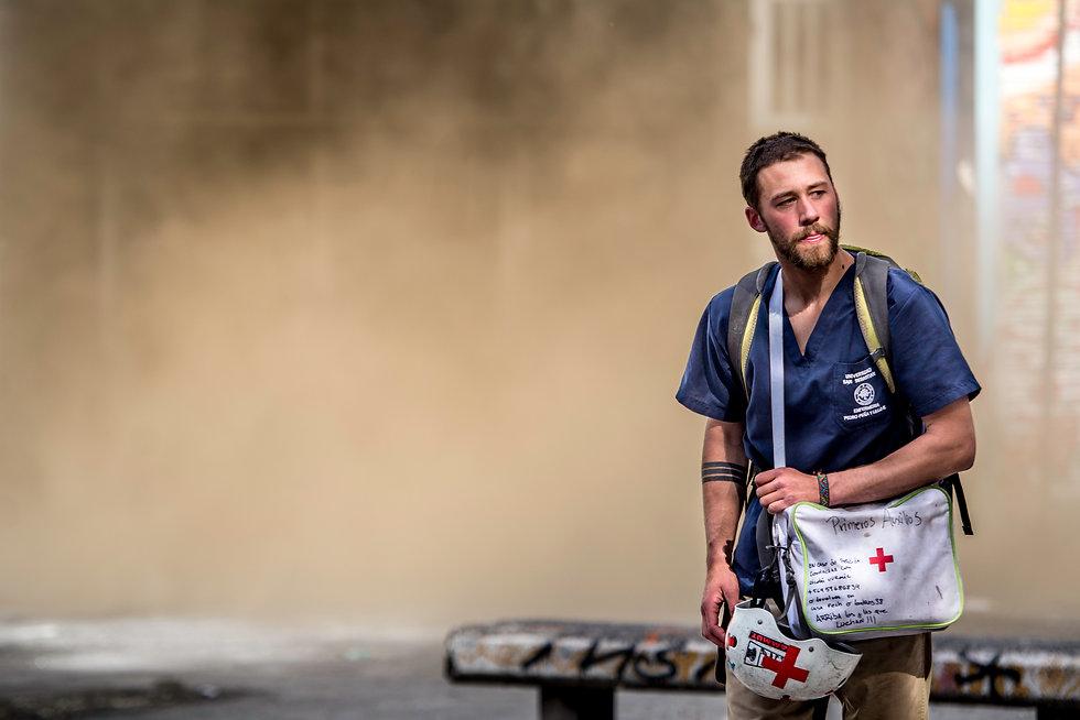 paramedico voluntario chile