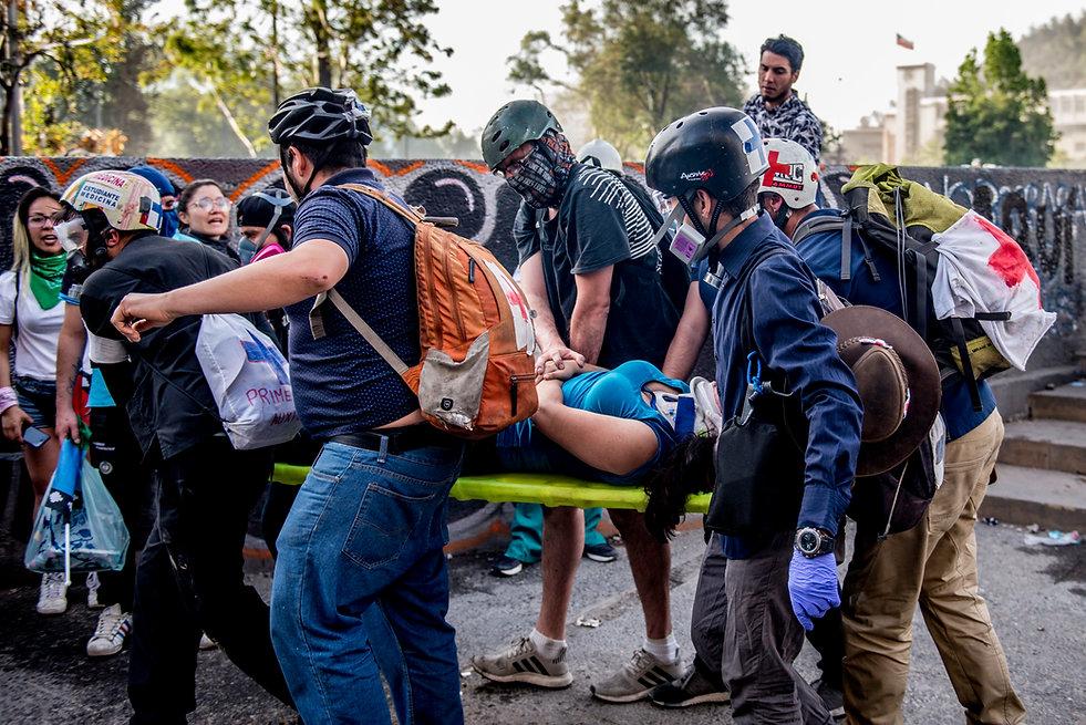 paramedicos voluntarios chile