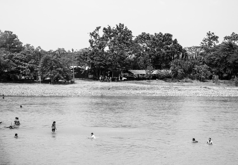 Rio La Cal, afluente del Ariar
