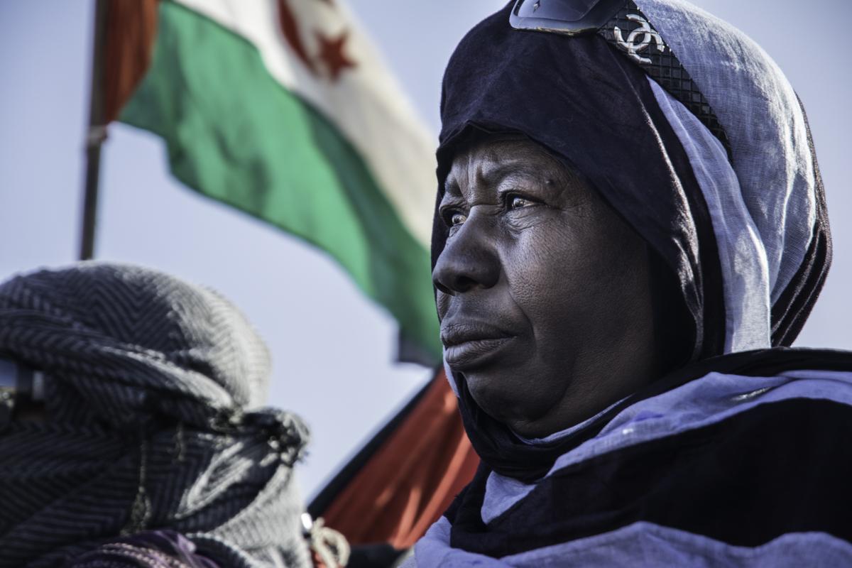Resultado de imagen de woman refugee saharaui rasd